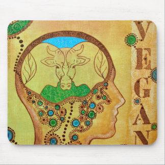 Vegan connection mouse mat