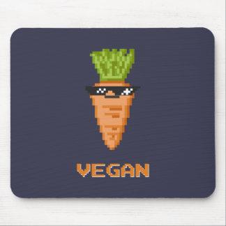 "Vegan ""Deal With It"" Carrot Mouse Mat"