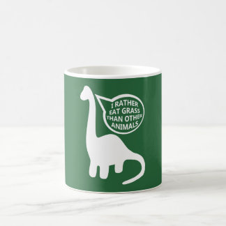 Vegan Dinosaur Coffee Mug