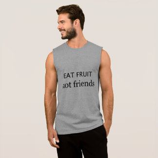 Vegan 'Eat fruit not friends' top
