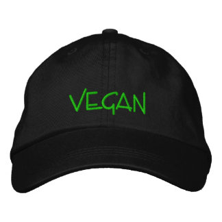 Vegan Embroidered Hats