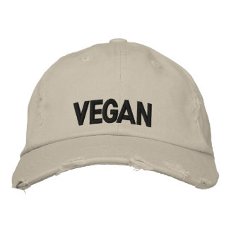 Vegan Embroidered Hat