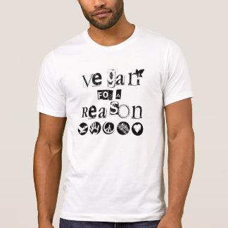 Vegan for a Reason (M) T-Shirt