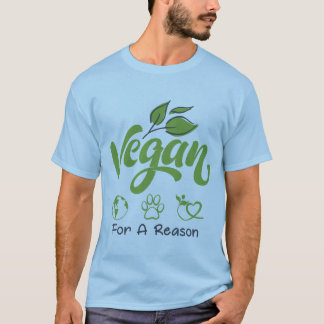 Vegan For A Reason Men's Short Sleeve T-Shirt