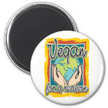 Vegan for a Reason Refrigerator Magnet