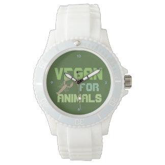 Vegan for Animals - W07 Wrist Watches