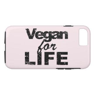 Vegan for LIFE (blk) iPhone 8/7 Case