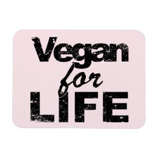 Vegan for LIFE (blk) Magnet