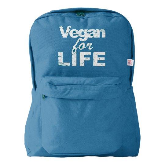 Vegan for LIFE (wht) Backpack