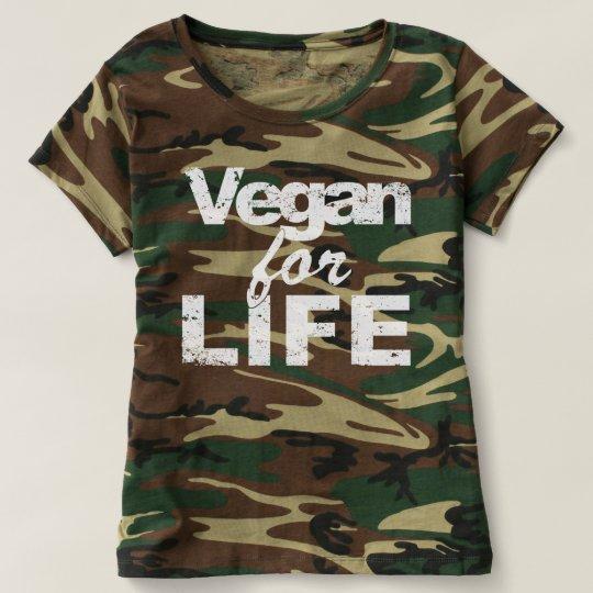 Vegan for LIFE (wht) T-Shirt