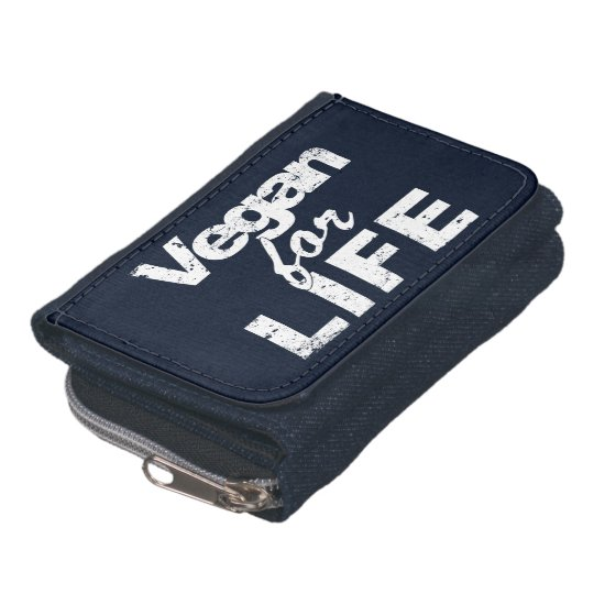 Vegan for LIFE (wht) Wallets