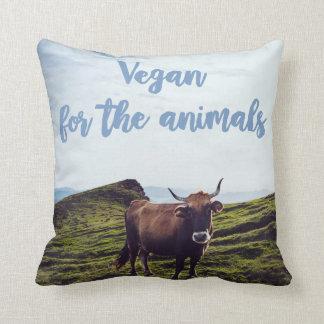 Vegan For The Animals Cushion
