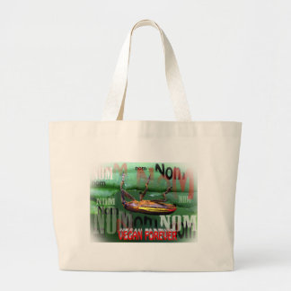 vegan forever canvas bags