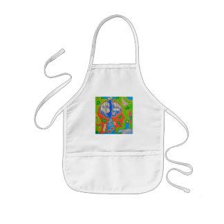 Vegan free animals kids apron