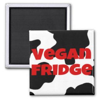 Vegan fridge magnet