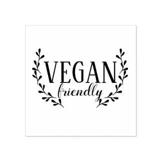 Vegan Friendly Rubber Stamp