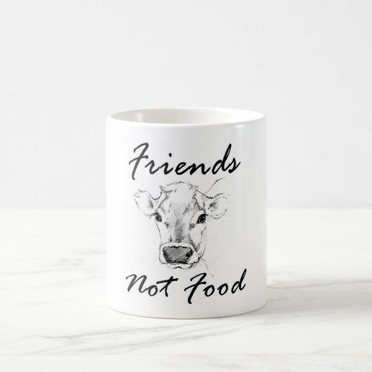 Vegan Friends Not Food Mug