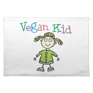 Vegan Girl Placemat