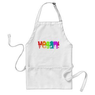 Vegan Grunge Rainbow Apron