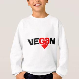 Vegan Heart Sweatshirt