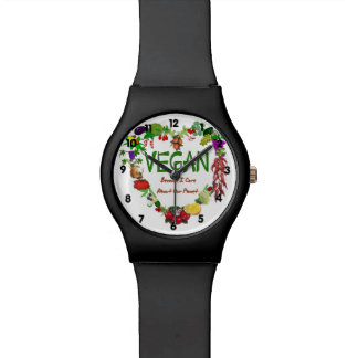 Vegan Heart Wristwatches