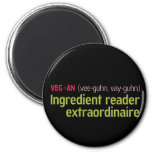 Vegan Ingredient Reader Magnet