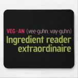 Vegan Ingredient Reader Mouse Pads