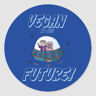 Vegan is the Future Sticker