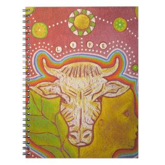 Vegan life notebook