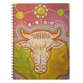 Vegan life notebooks
