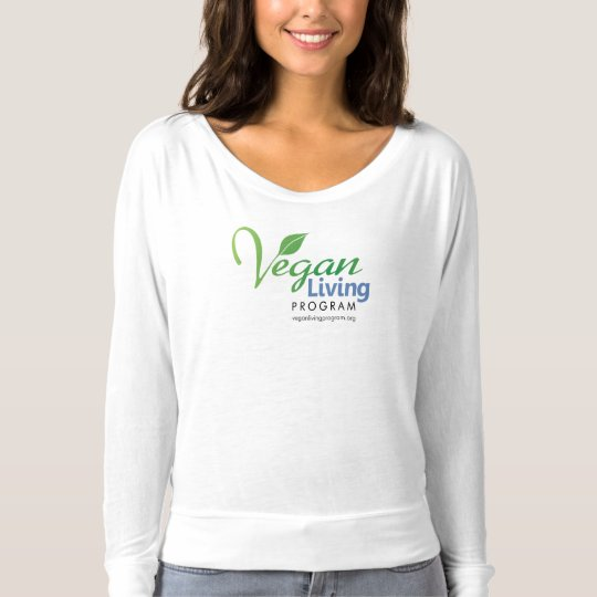 Vegan Living Program Women's Bella Long Sleeve T-Shirt