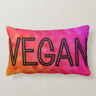 Vegan Logo Blended Colour Lumbar Cushion