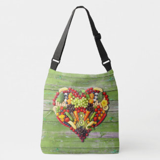 VEGAN LOVE -  your Heart Crossbody Bag
