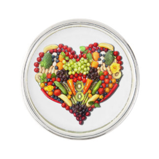 VEGAN LOVE -  your Heart Lapel Pin