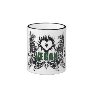 Vegan Ringer Coffee Mug