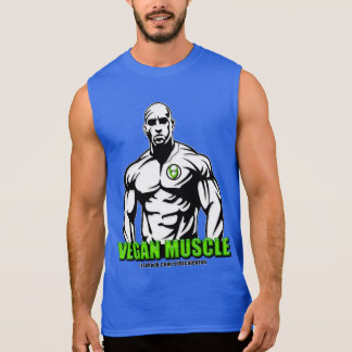 Vegan Muscle Apparel Sleeveless Shirt