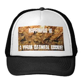 Vegan Oatmeal Cookies Mesh Hats