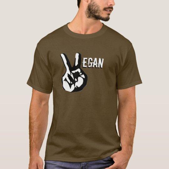 Vegan Peace Dark Long Sleeve T T-Shirt