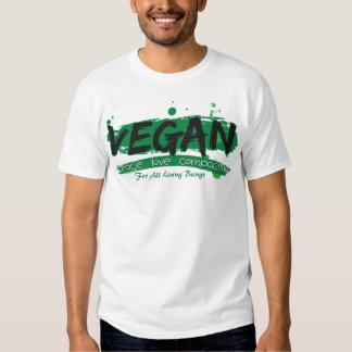 Vegan Peace Love Compassion Tshirts