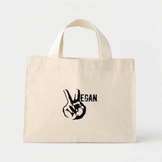 Vegan Peace Tote Bag