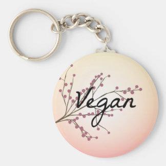 Vegan Pink Cherry Blossom Keychains