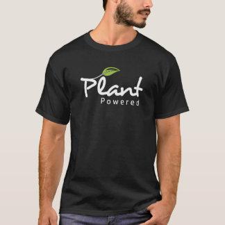 "Vegan ""Plant Powered"" black t-shirt"