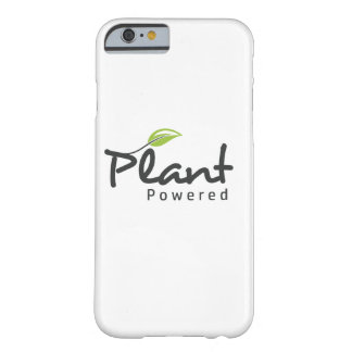 "Vegan ""Plant Powered"" iPhone 6 and 6s cover"