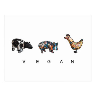 Vegan Postcard