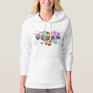 Vegan ~ Powered by Plants ~ Celebration Hoodie