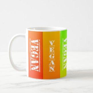 Vegan Rainbow Panels Mug