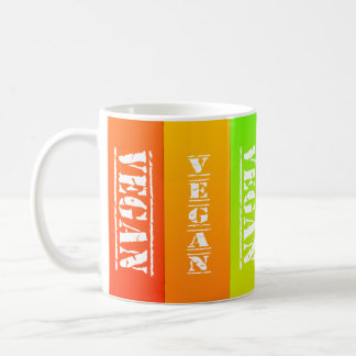 Vegan Rainbow Panels Mug