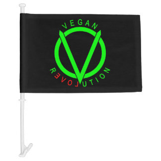Vegan Revolution Flag