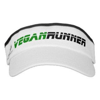 Vegan runner visor