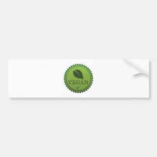 Vegan Seal Bumper Sticker